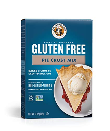 King Arthur Flour Gluten-Free Pie Crust Mix, 14 Ounce
