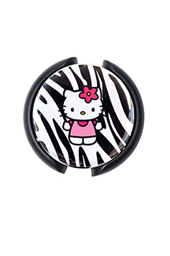 Zebra Kitty (Sizzle City Stethoscope ID Tag (Zebra Kitty Steth Tag))
