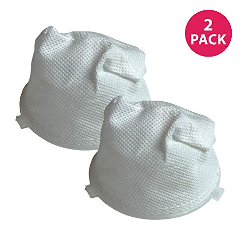 Think Crucial 2 Dirt Devil F5 Washable Vacuum Filters Fit Dirt Devil F5 Filter For Scorpion Hand Vacs Models 08200, 8201, 08210, 08215X & More, Replaces Dirt Devil Part # 3-DEA950-001 (3DEA950001)