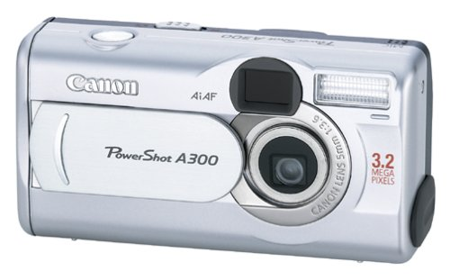 Canon PowerShot A300 3.2MP Digital Camera with 5.1x Digital -