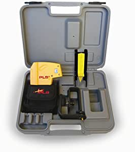 PLS Laser PLS-60541 PLS 5 Laser Level Tool, Yellow