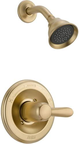 Delta Lahara Single Handle Champagne Bronze Shower Only Faucet with Valve D563V