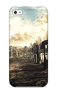 New Design Shatterproof FmVsOwW3682MRDBI Case For Iphone 5c (post Apocalyptic)