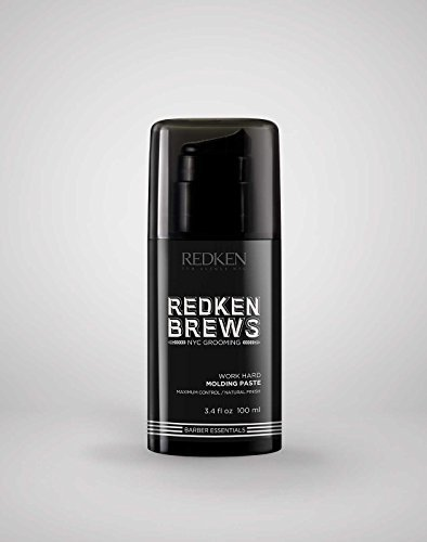 Redken Brews Work Hard Maximum Control Molding Paste 3.4 oz