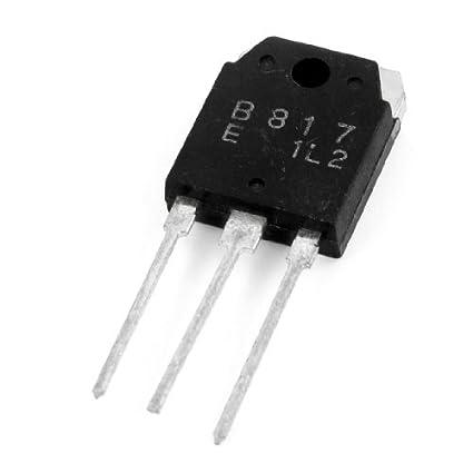 Amplificador de Potência 140V 12A 3 Pin PNP Transistor 2SB817