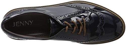 Jenny Portland - Zapatos de cordones derby Mujer Azul - azul (azul 02)