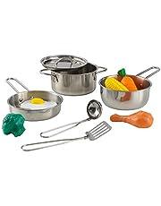 KidKraft 63186 Luxe speelgoed kookgereiset met doen-alsof etenswaren voor kinderen