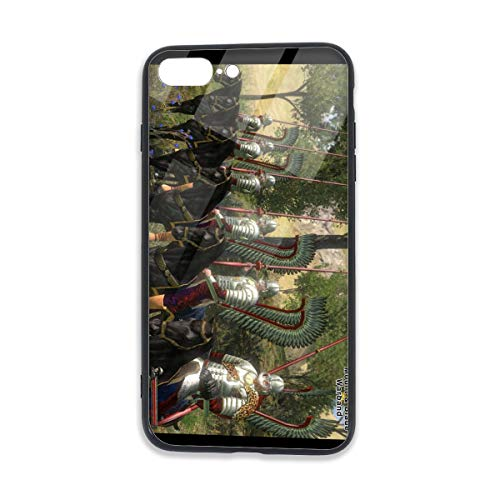 Ahgfff0au4 Mount & Blade with Fire & Sword Fashionable iPhone 7/8 Plus TPU Glass Phone Case for iPhone 7/8 Plus One Size Black (Mount And Blade With Fire And Sword)