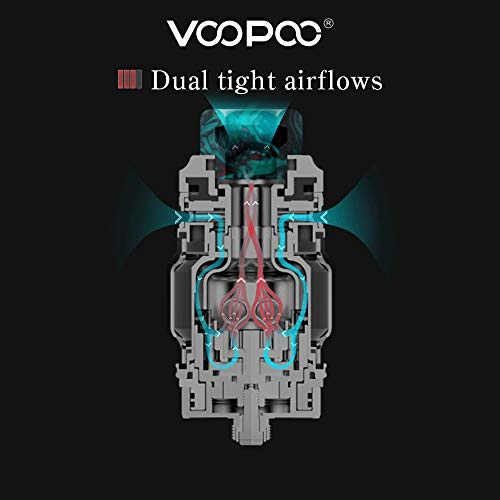 Voopoo Rimfire RTA Sub Ohm Tank,Top Filling DIY Dual&Single
