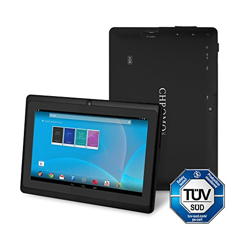 "Chromo Inc Tablet – 7"" Android Tablet – Black"