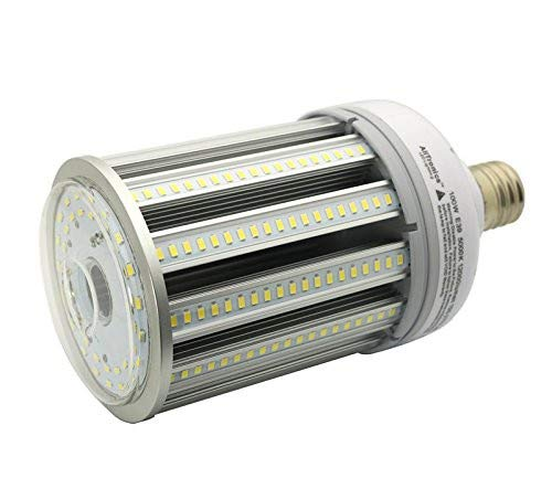 Orlich 100w Led Corn Bulb,Led Corn Light,12000 Lumens,Replace 400w Metal Halide, Ac100-277V, E39 Mogul Base,5000k,Used for Post Top,Acorn,Garage,Highbay/Low Bay Fixture