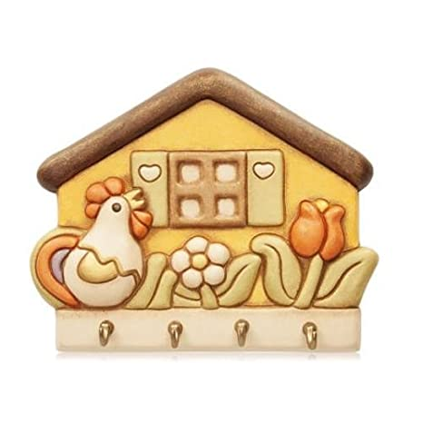 THUN llavero casita con gallo: Amazon.es: Hogar