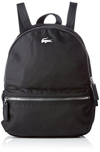 Lacoste NF1886ON, Bolsa para Mujer, Black (Black), 34 x 14.5 x 25 cm