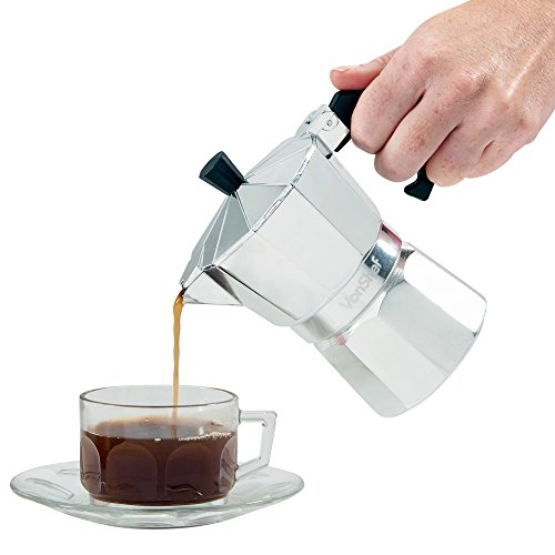 Italian Coffee Maker Reviews : VonShef 3 Cup Italian Espresso Coffee Maker Stove Top Moka Macchinetta - Buy Online in UAE ...