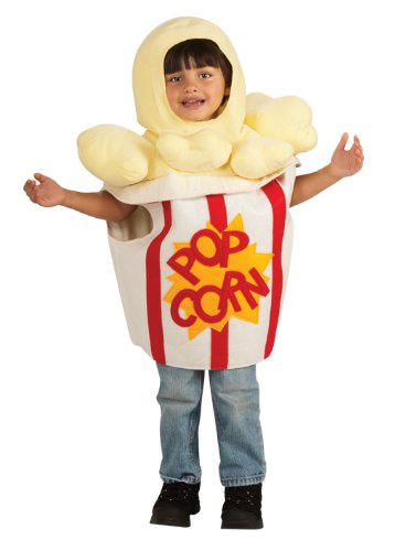 [Rubie's Costume Trick Or Treat Sweeties Going' To The Movies Popcorn Costume, White, Infant] (Popcorn Costume)
