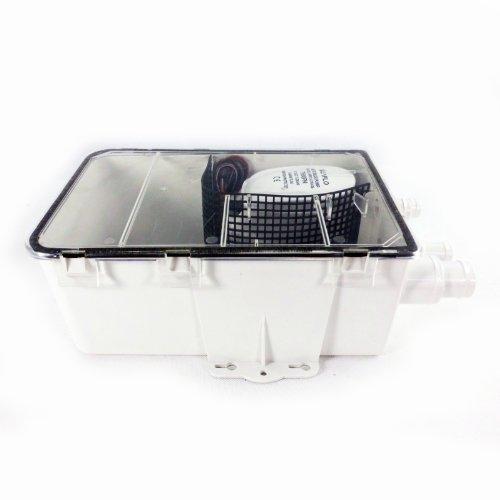 SEAFLO DC Shower Sump Pump System Box Multi Inlet 12V 750GPH