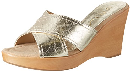 Risoto Unisa Sandals Open Toe platino mr Gold qBpdwnBC
