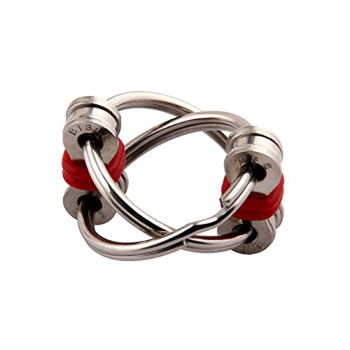 Bike Flippy Chain Fidget Toy for Autism, ADD, ADHD, Stress and Idle Hands