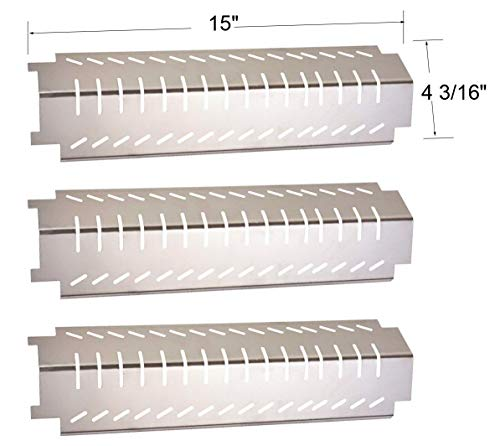 b.q.s 94011 4 unidades Placas de acero inoxidable para parrilla Bar