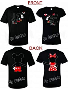 5b314e557 Amazon.com: Disney Family Vacation Any Year Matching T-Shirts Cute ...