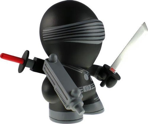 G.I. Joe The Loyal Subjects Series 1 Snake Eyes - Mini Blind Box Vinyl Figure