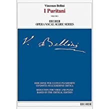 I Puritani: Ricordi Opera Vocal Score Series