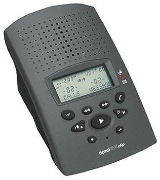 Tiptel 215 Digitaler Anrufbeantworter Mit Clip-funktion Anrufbeantworter Handys & Kommunikation