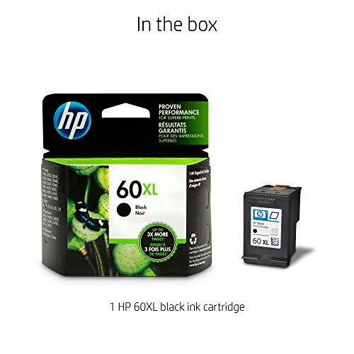 HP CC641WN#140 60XL High-Yield Ink Cartridge Black