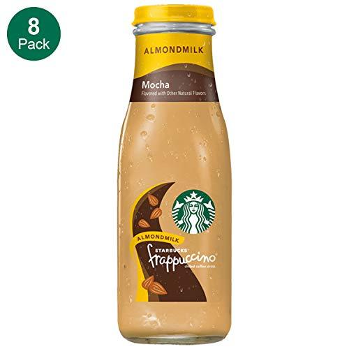 Starbucks Almond Milk Frappuccino, Mocha, 13.7 Fl Oz (8 Count)