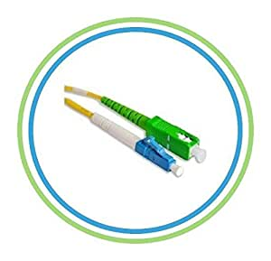 sc apc to lc fiber optic patch cable 1m single mode simplex. Black Bedroom Furniture Sets. Home Design Ideas