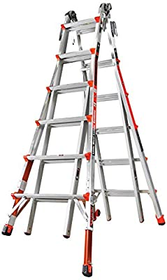Little Giant Ladder Systems 12026-801 Revolution M26 with Ratcheting Levelers