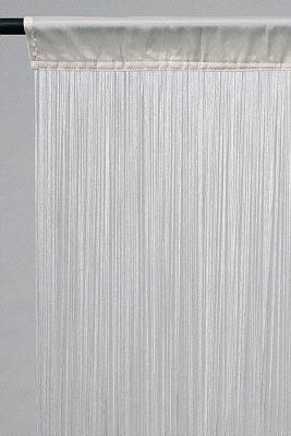 Rideau Fils Blanc 150 X 400 Cm Amazon Fr Jardin