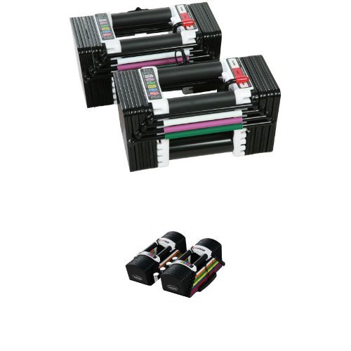 PowerBlock Elite Dumbbell 70lb Set by Power Block
