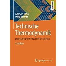 Technische Thermodynamik: Ein beispielorientiertes Einführungsbuch
