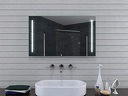 Lux aqua design specchio da bagno con luce caldo freddo