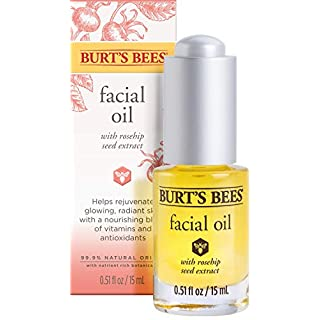 Burt's Bees Complete Nourishment Facial Oil, Anti-Aging Oil,  0.51 Ounces
