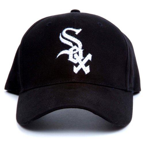 MLB Chicago White Sox LED Light-Up Logo Adjustable Hat (Chicago White Sox Light)