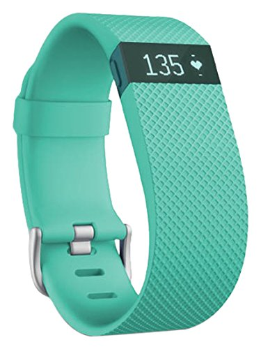 Fitbit Charge HR Activity and Heart Rate Tracker (Large) - Teal (Teal, Large) by Fitbit