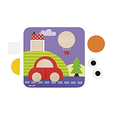 Janod I Learn Shapes Baby Toy: Toys & Games