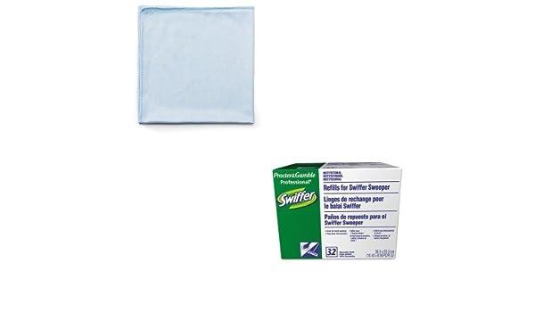 kitpag33407ctrcpq630 - Value Kit - Sistema de recarga de Swiffer seco (pag33407ct) y Rubbermaid reutilizable paños de limpieza (rcpq630): Amazon.es: Oficina ...