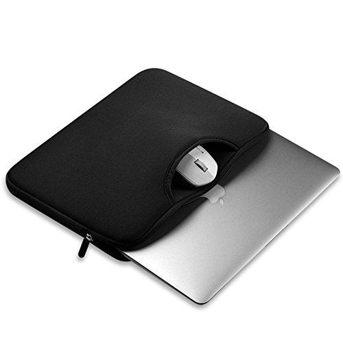 Funda para Portátiles / Maletín con Asa Para Ordenador Portátil Notebook / Ultrabook Tablet de Maleta Bolsa de Transporte Negro