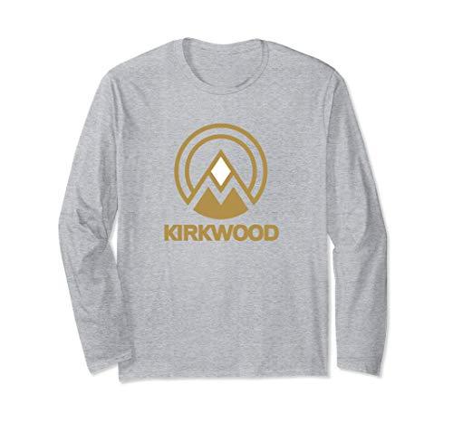 a49148690fb95 Unisex Kirkwood California Souvenir T Shirt - Hiking Biking Camping Large  Heather Grey
