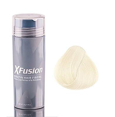 XFusion Economy Size (28g) Keratin Hair Fibers, White