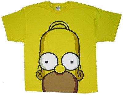 Homer Huge Face - Homer - Simpsons T-shirt