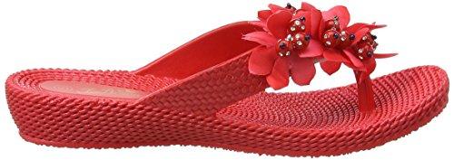 Joe Browns Sensational Pool Shoes - Sandalias con tacón Mujer Rojo (Red)