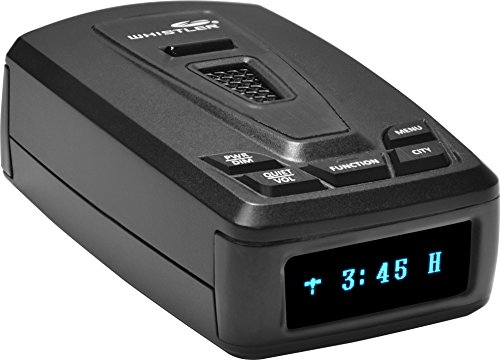 Whistler 5050EX High Performance Laser Radar Detector: 360 Degree Protection and Bilingual Voice Alerts