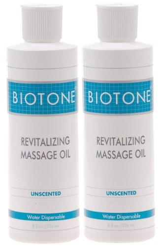 Biotone Revitalisant Huile de massage - 8 oz - Lot de 2