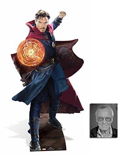 Fan Pack - Doctor Stephen Strange (Benedict Cumberbatch) Lifesize 2D Cardboard Standup / Cutout Plus 20x25cm Photo by BundleZ-4-FanZ Fan Packs by Starstills by BundleZ-4-FanZ Fan Packs by Starstills