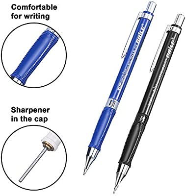 21 Pieces Mechanical Pencil Set Automatic Pencils Draft Drawing Writing Crafting