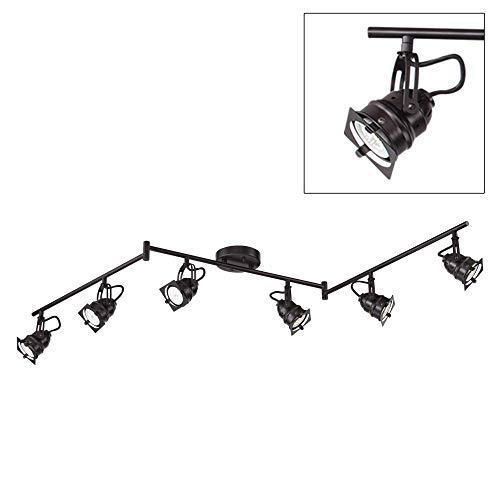 Hamilton 6-Light Bronze Swing Arm LED Track Light Kit - Pro Track by Pro Track (Image #1)